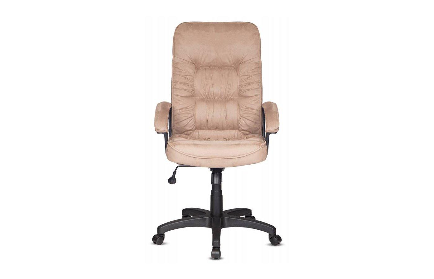 Кресло руководителя Бюрократ T-9908AXSN/MF103 бежевый MF103 микрофибра