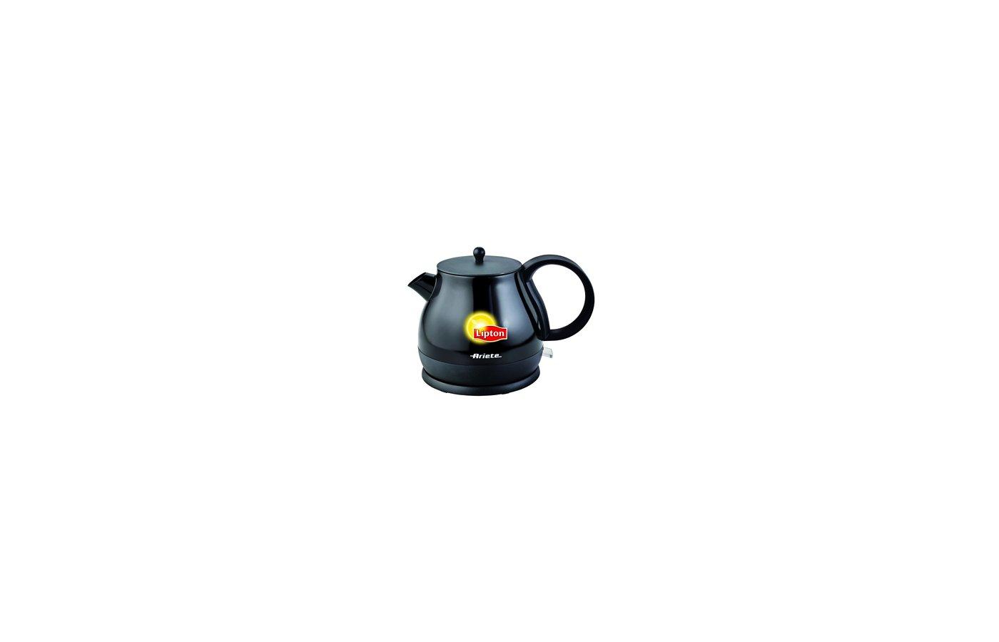 Чайник электрический  ARIETE 2871 Lipton metal black