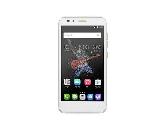 Смартфон Alcatel 7048X GO PLAY White/Green+Blue
