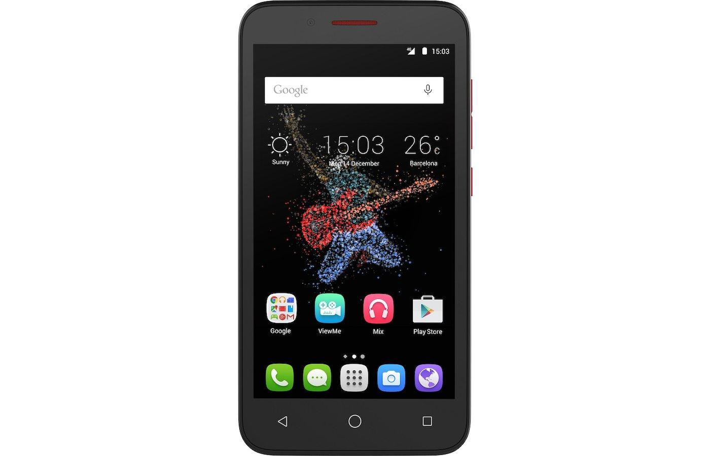 Смартфон Alcatel 7048X GO PLAY Black/Black+Red