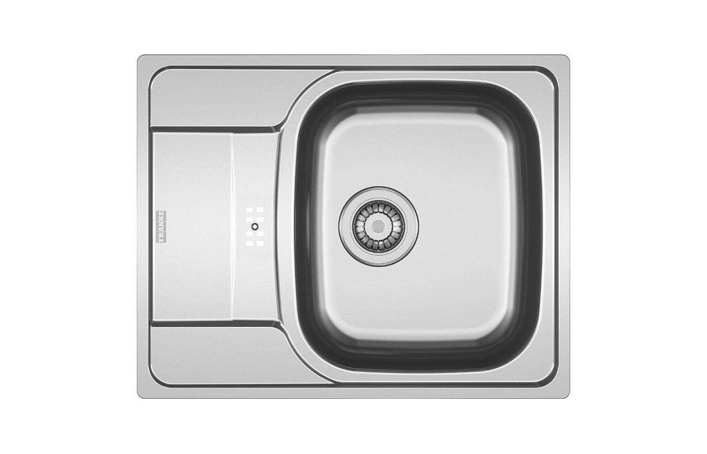 Кухонная мойка FRANKE POLAR PXL 614-60 Вентиль 3.5 + комплект для монтажа
