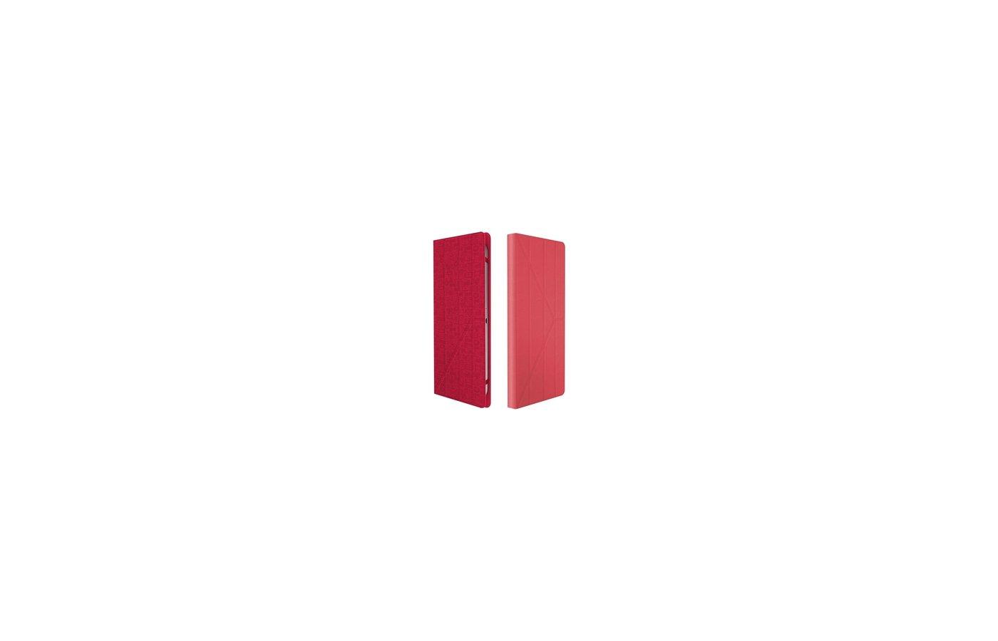 """Чехол для планшетного ПК CANYON """"Life is"""" для планшетов до 7"""" красный"""