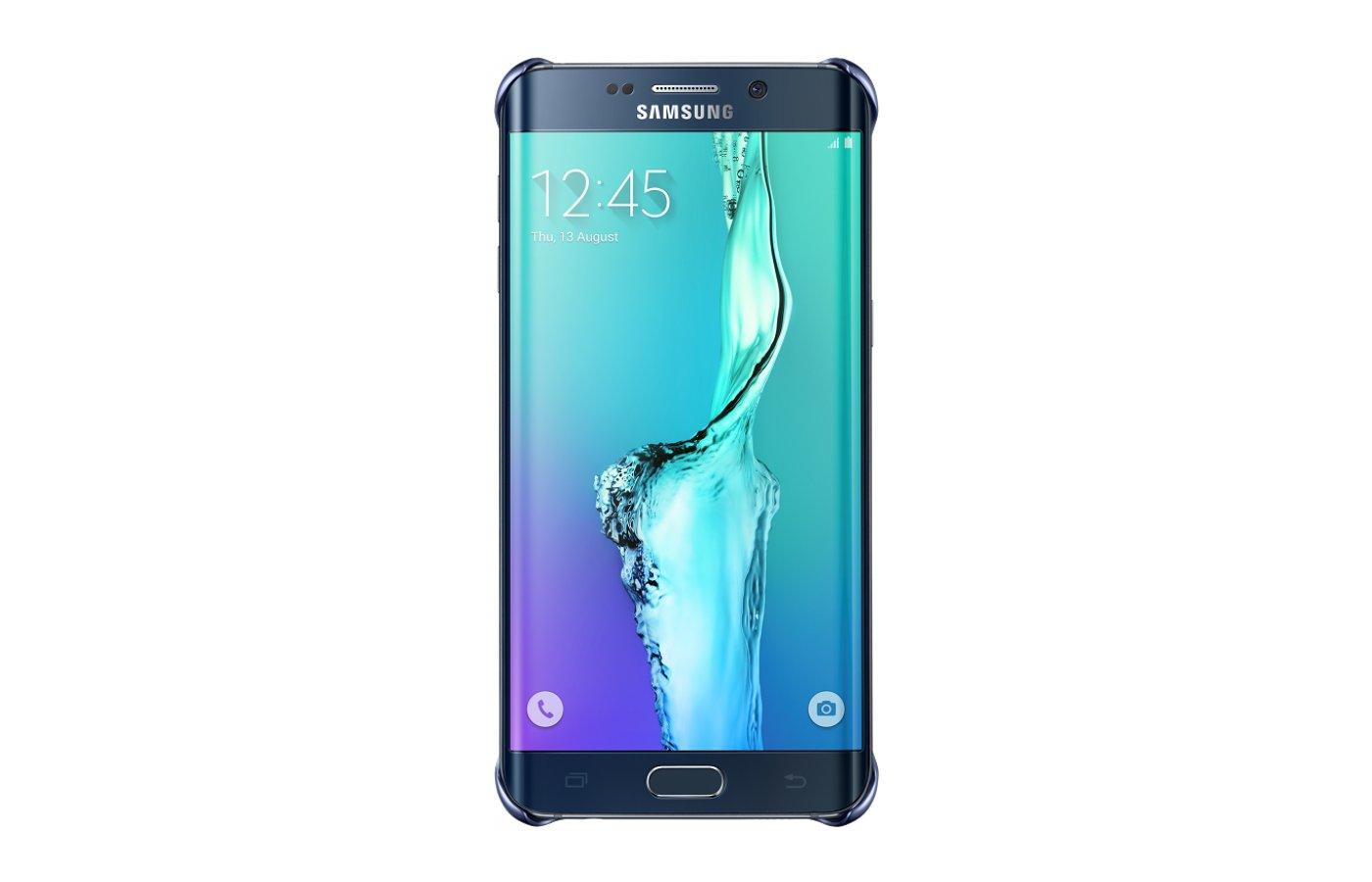 Чехол Samsung СlCover для Galaxy S6 Edge+ (SM-G928) (EF-QG928CBEGRU) черный