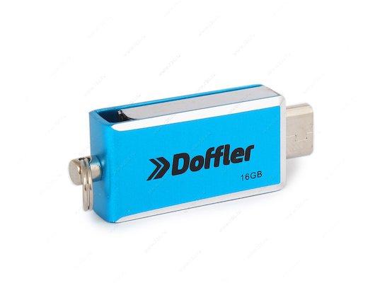 Флеш-диск USB 2.0 DOFFLER DH024 OTG 16GB