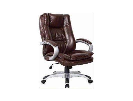 EXCOMP QA-6772 Кресло/кожзам/коричневый