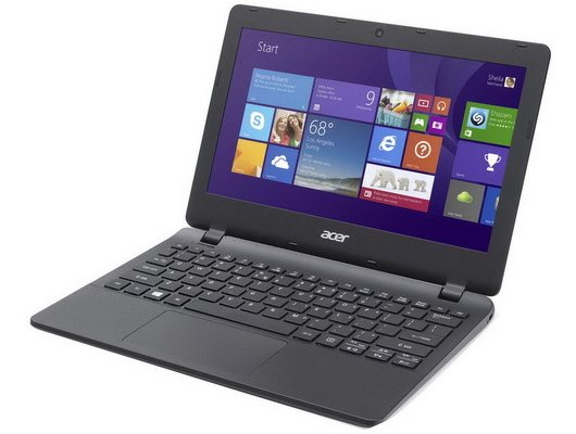 Нетбук Acer ES1-131-C1NL /NX.MYGER.004/ intel N3050/2Gb/SSD32Gb/11.6/WiFi/Win10 Black