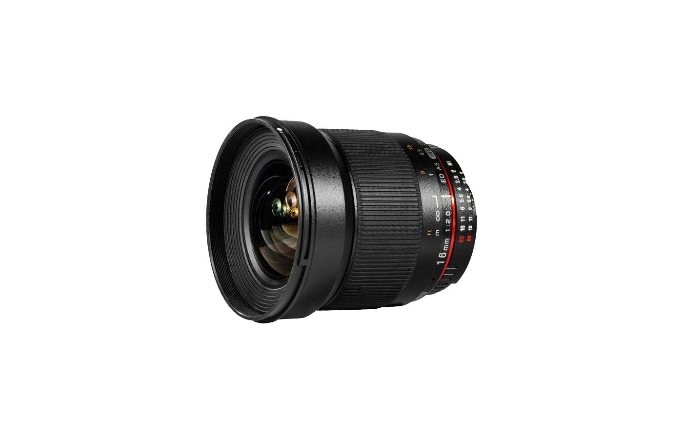 Объектив SAMYANG MF 16mm f/2.0 ED AS UMC CS FUJI