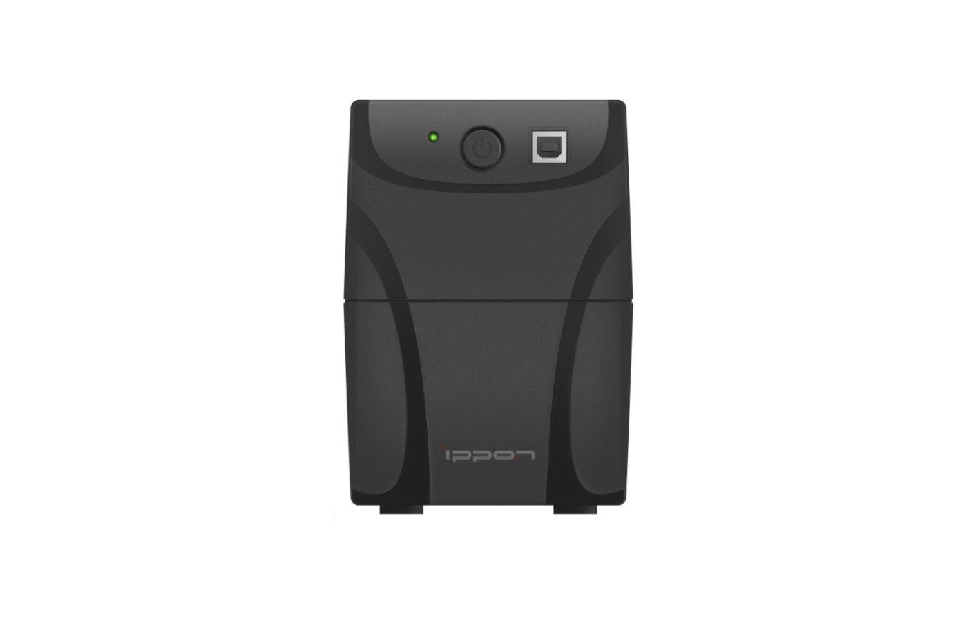 Блок питания Источник бесперебойного питания Ippon Back Power Pro 400 New 240Вт 400ВА черный