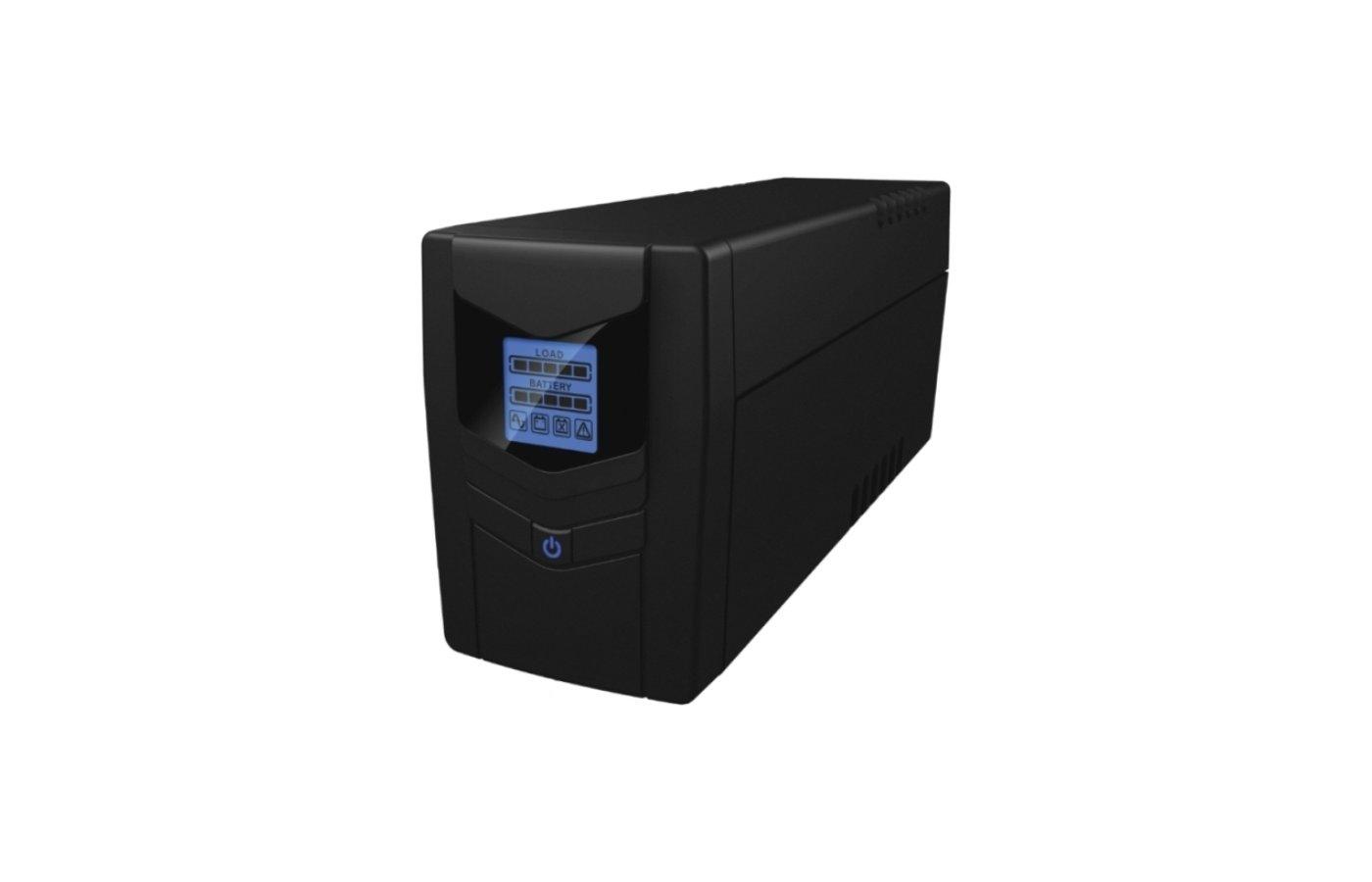 Блок питания Источник бесперебойного питания Ippon Back Power LCD Pro 800 480Вт 800ВА черный