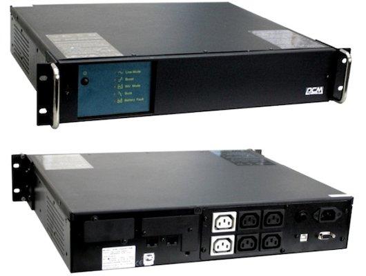 Блок питания Powercom KIN-1200AP RM (2U) USB и RS-232