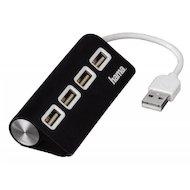 Разветвитель USB 2.0 Hama TopSide(12177) портов 4 черный