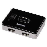 Фото Разветвитель USB 2.0 Hama Switch4Active(54570) портов 4 черный