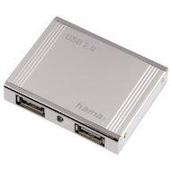 Разветвитель USB 2.0 Hama Aluminium(78498) портов 4