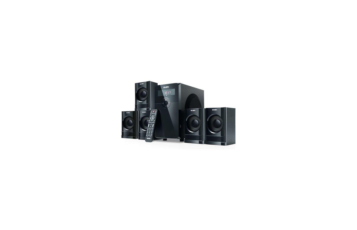 Компьютерные колонки SVEN HT-200 чёрный