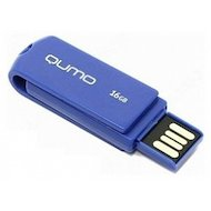 Флеш-диск USB 2.0 QUMO 16GB Twist Cobalt