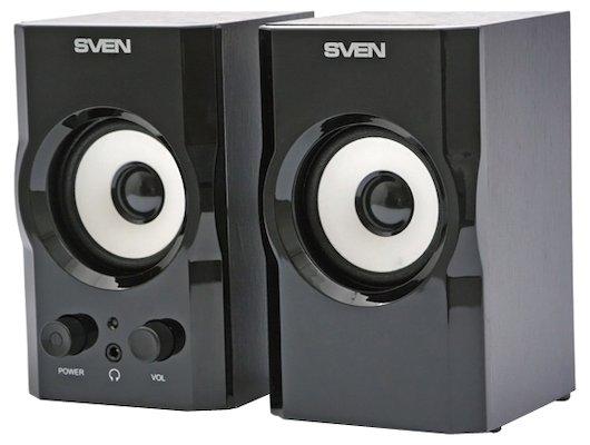 Компьютерные колонки SVEN SPS-605 чёрный