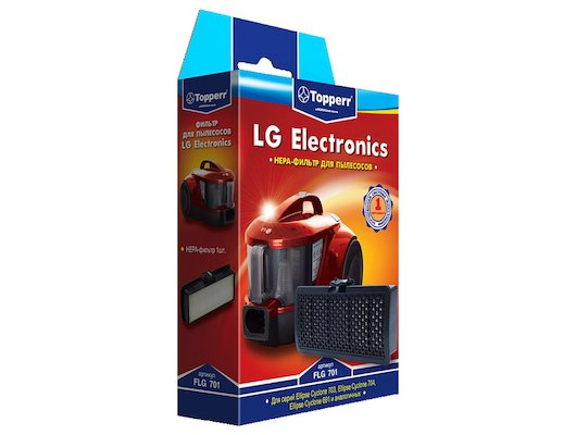 Фильтр для пылесоса TOPPERR 1129 FLG 701 HEPA-фильтр д/пылесосов LG VK69... VK70... (VEF-SQG)