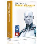Фото Компьютерное ПО ESET NOD32 Smart Security+ Bonus+расширенный фун-унив лиц на 1 год на 3ПК или прод на 20мес, CARD