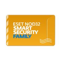 Компьютерное ПО Eset NOD32 Smart Security Family - лицензия на 1 год на 5ПК (NOD32-ESM-NS(BOX)-1-5)