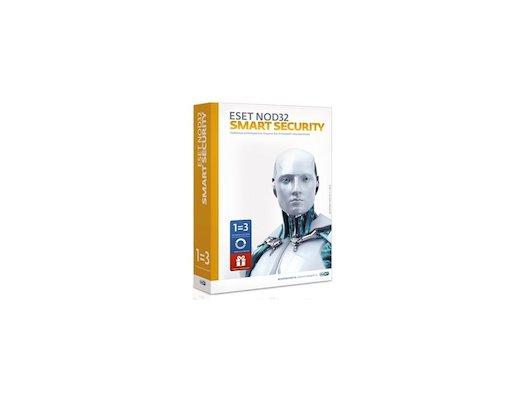 Компьютерное ПО ESET NOD32 Smart Security+ Bonus+расширенный фун-унив лиц на 1 год на 3ПК или прод на 20мес, CARD