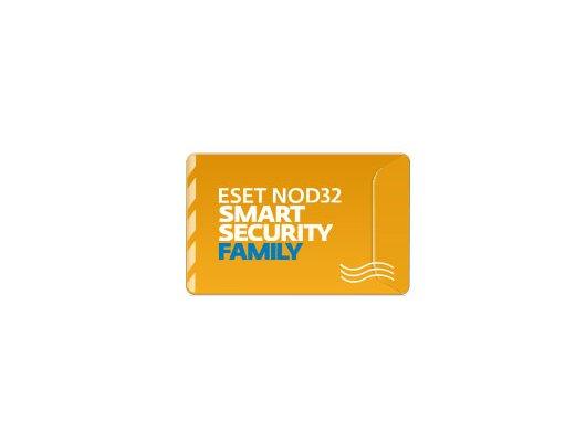 Компьютерное ПО Eset NOD32 Smart Security Family - лицензия на 1 год на 5ПК (NOD32-ESM-NS(BOX)-1-5)