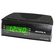 Фото Настольные часы SUPRA SA-38FM black/green