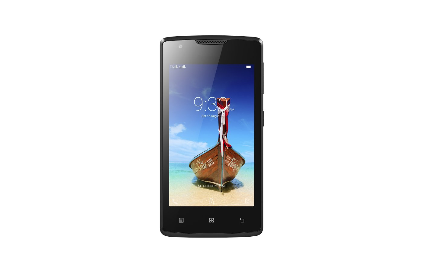 Смартфон LENOVO A1000 DS black