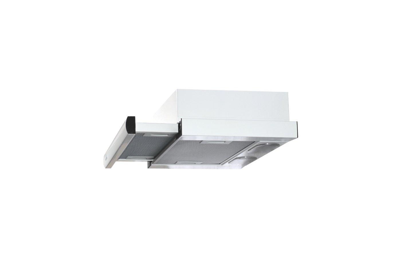 Вытяжка ELIKOR Интегра 60П-400-В2Л белый/бел.