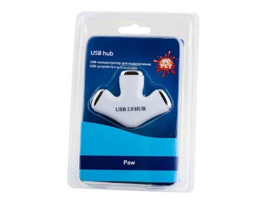 Разветвитель USB 2.0 PC Pet Paw