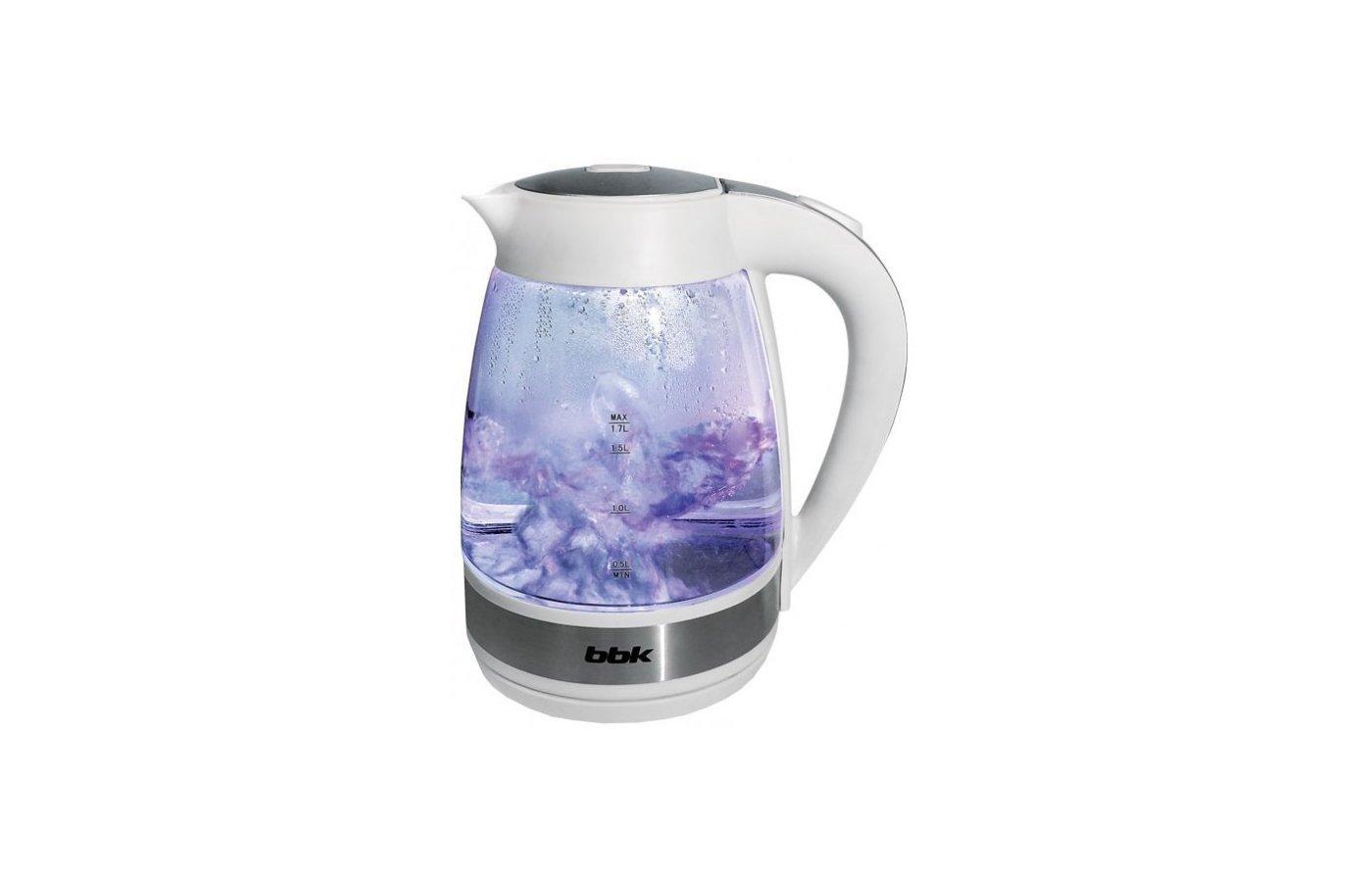 Чайник электрический  BBK EK1721G белый