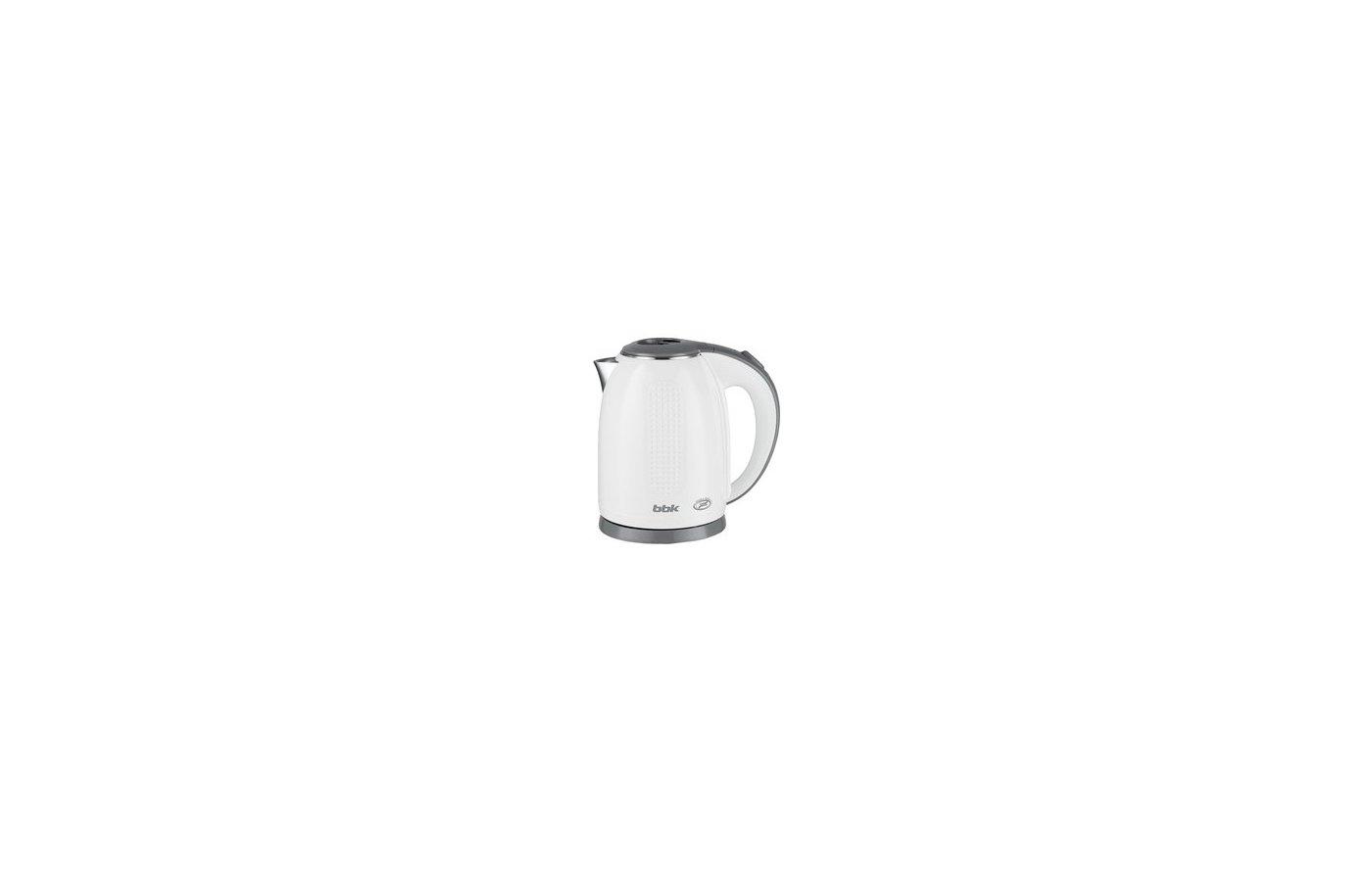 Чайник электрический  BBK EK1735P бел/сер