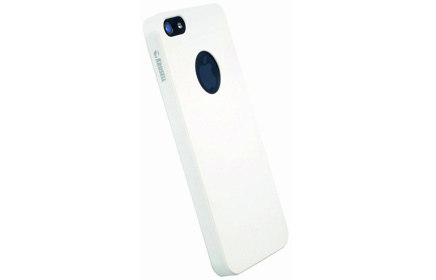 Чехол KRUSELL ColorCover для iPhone 5/5S/SE White Metallic (KS-89731)