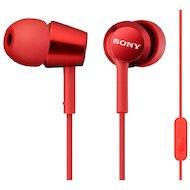 Гарнитуры SONY MDR-EX150AP красный