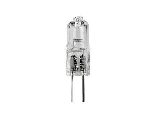 Лампочки галогеновые ЭРА G4-JC-20W-12V (100/1000) Лампа галогенная
