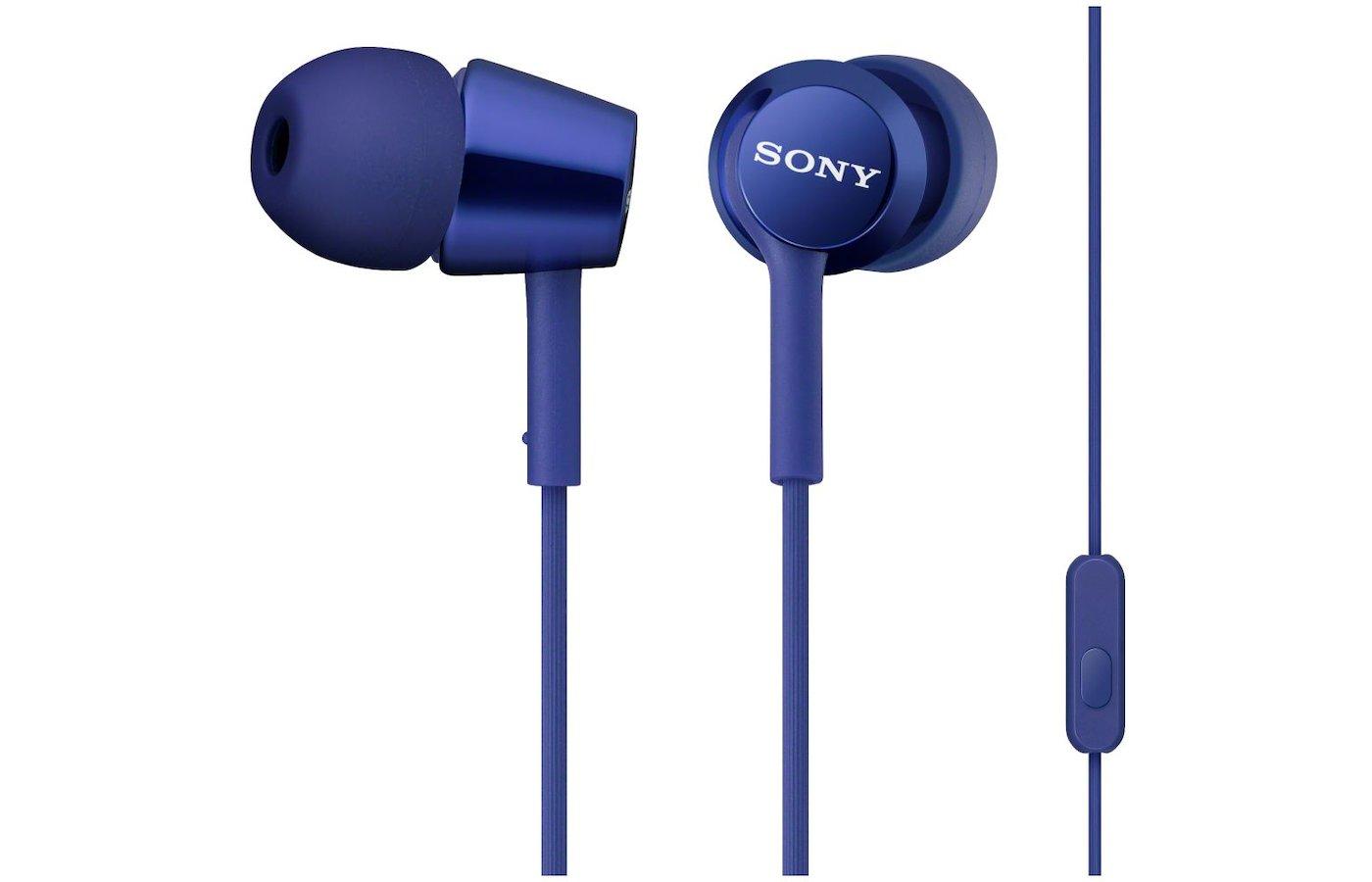 Гарнитуры SONY MDR-EX150AP синий