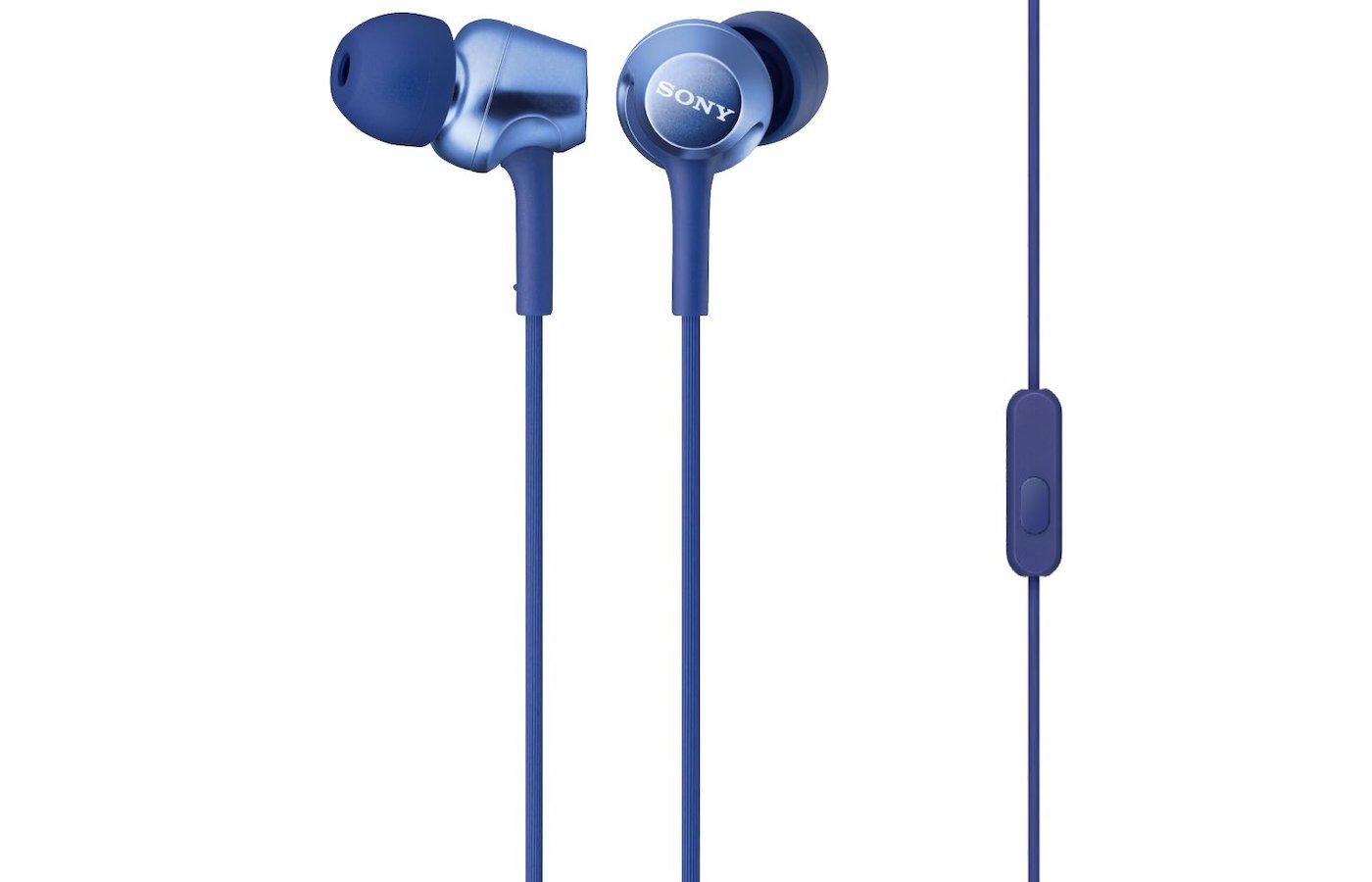 Гарнитуры SONY MDR-EX250AP синий