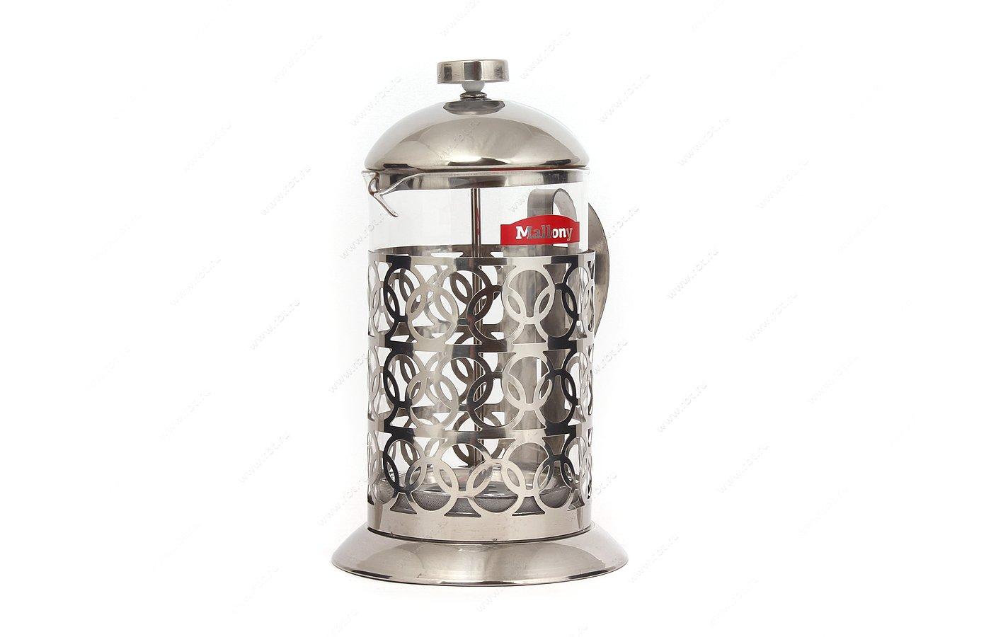 кофейники и турки MALLONY T046-800ML Френч-Пресс 800мл 950092