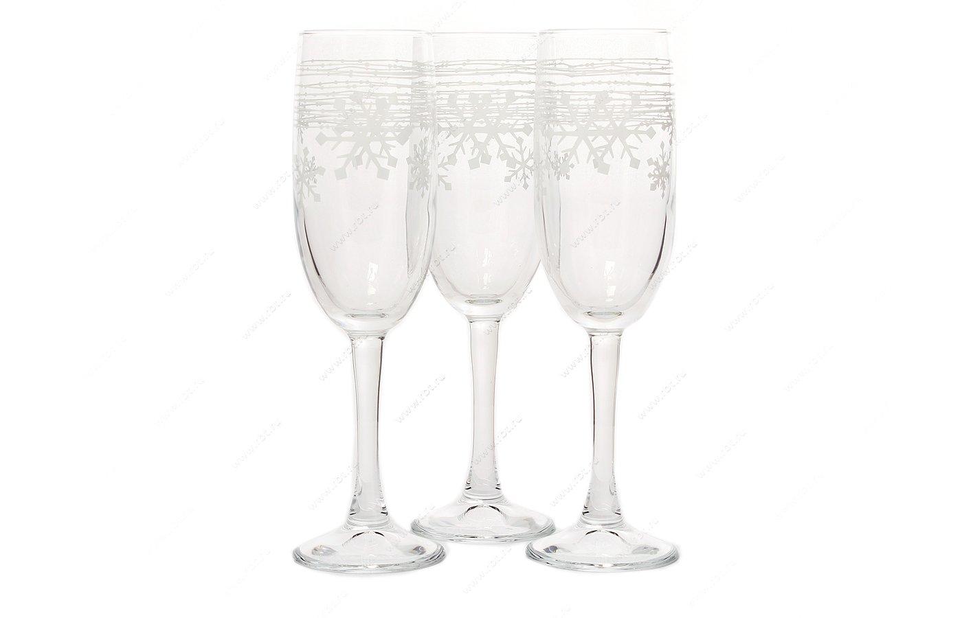 Посуда для напитков PASABAHCE 44819B/DD Набор бокалов 3шт 150 мл