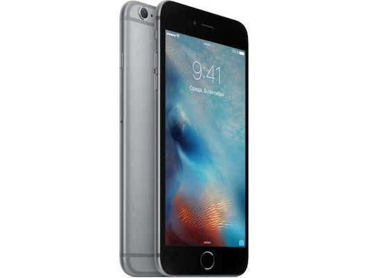 Смартфон Apple iPhone 6S+ 64G Grey MKU62RU/A
