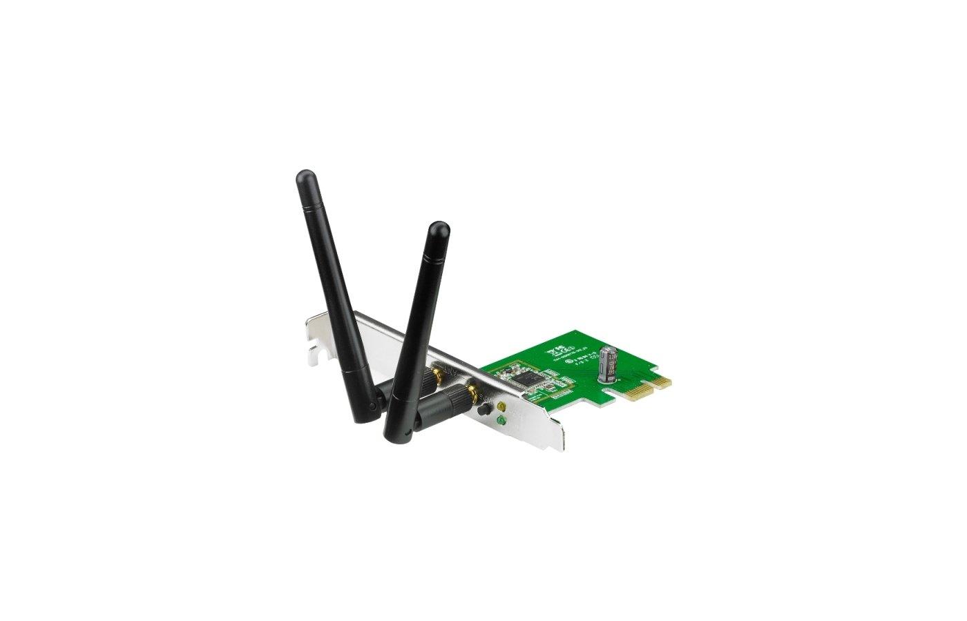 Сетевое оборудование Asus PCE-N15 PCI-E 802.11n 300Mbps