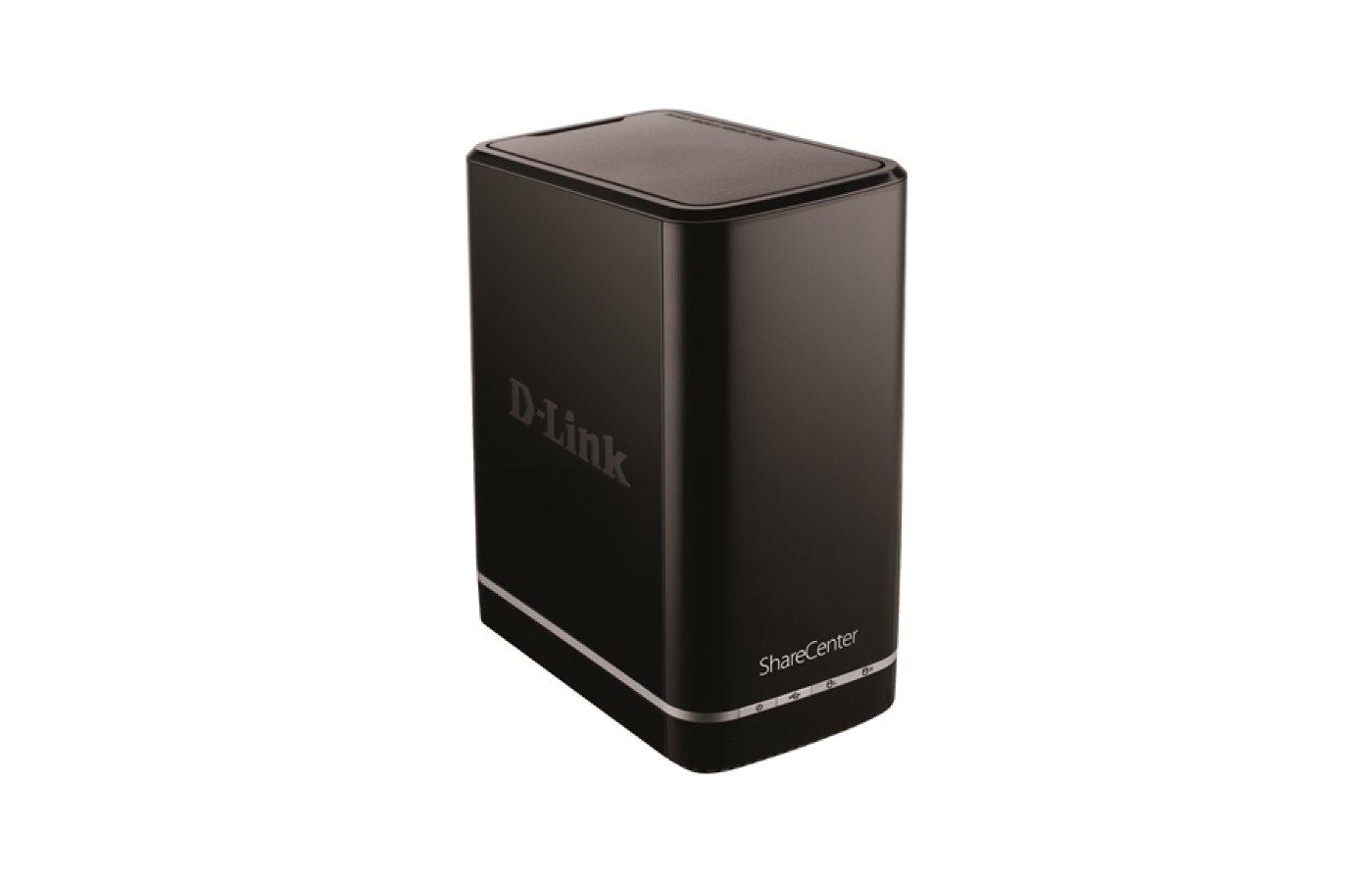 """Сетевое оборудование NAS D-Link ShareCenter DNS-320L/A3A 2-slot SATA II 3.5"""" 1xUSB2.0"""