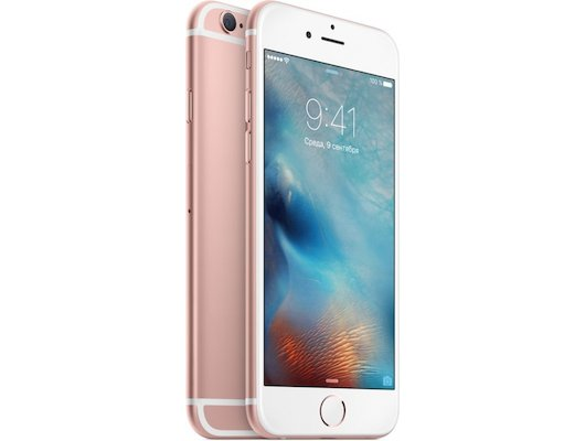 Смартфон Apple iPhone 6S 16G Rose MKQM2RU/A