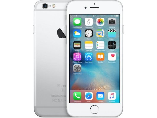 Смартфон Apple iPhone 6S 16G Silver MKQK2RU/A