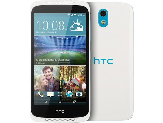 Смартфон HTC Desire 526G DS EEA terra white blue