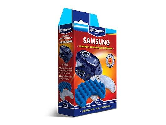 Фильтр для пылесоса TOPPERR 1117 FSM 9 комплект фильтров д/пылесоса SAMSUNG SC 91... SC 95... (DJ97-00847A)