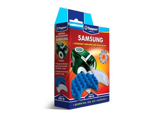 Фильтр для пылесоса TOPPERR 1116 FSM 85 комплект фильтров д/пылесоса SAMSUNG SC 84... SC 85... SC 87... (DJ97-00849B)