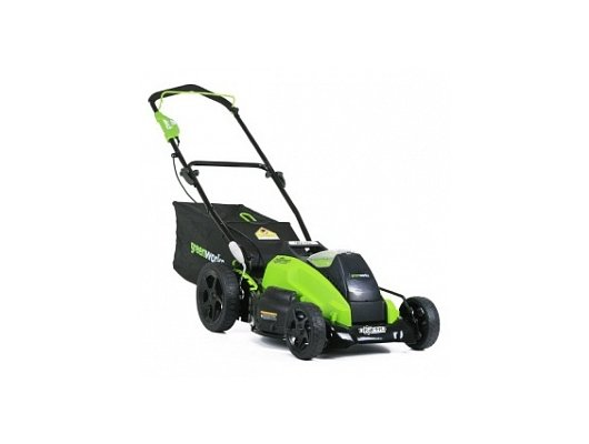 Газонокосилка Greenworks GD40LM45