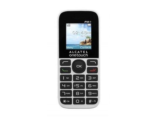 Мобильный телефон Alcatel 1016D Black Pure White