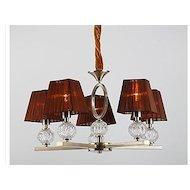 Фото Декоративный светильник Rivoli 1949-Liticia-P-5XE14-60W-Antique brass