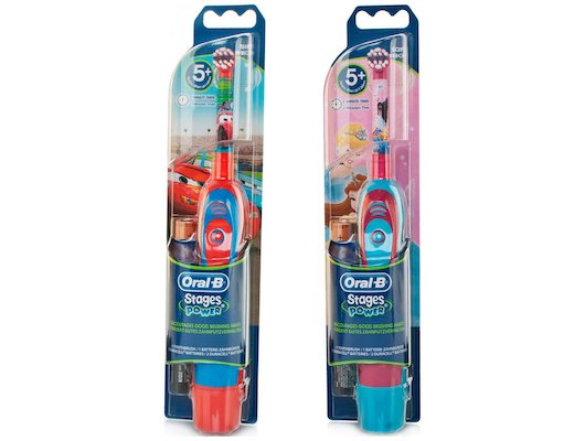 Зубные щетки электрические Oral-B DB4.510 детская на батарейках